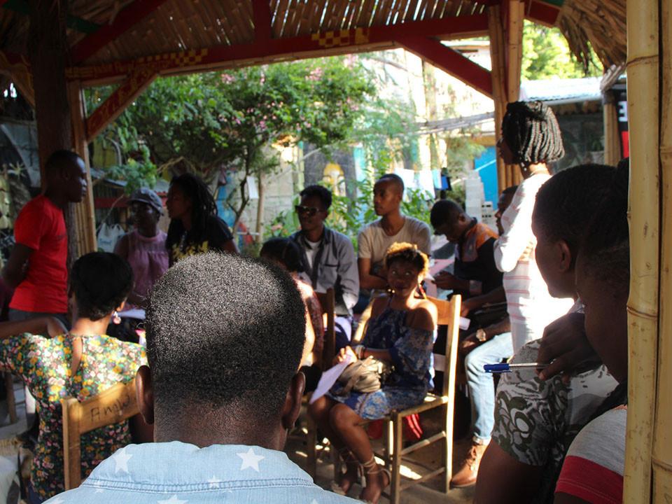 VINGT JEUNES ÉCRIVAINS HAÏTIENS A LA QUÊTE DE LEUR ORIGINE EN AFRIQUE