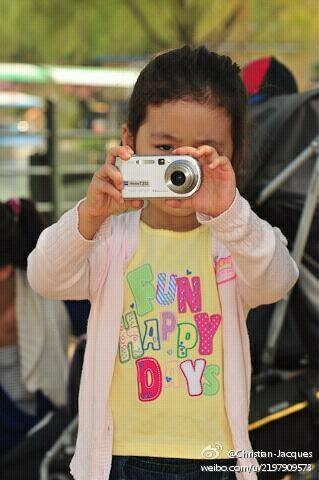Enfant photographe