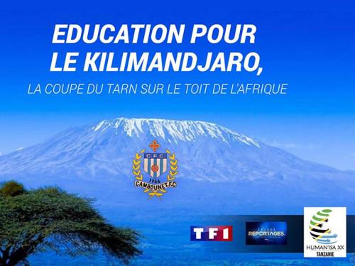 EDUCATION POUR LE KILIMANDJARO, LET'S GO CAMBOU !!!