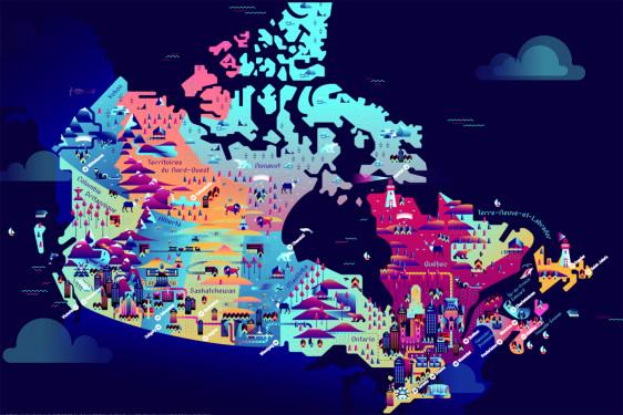 CANADA : LA GRANDE EXPLORATION