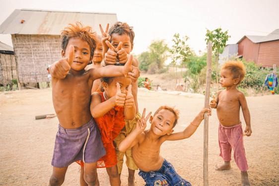 Défis d'enfants autour du monde