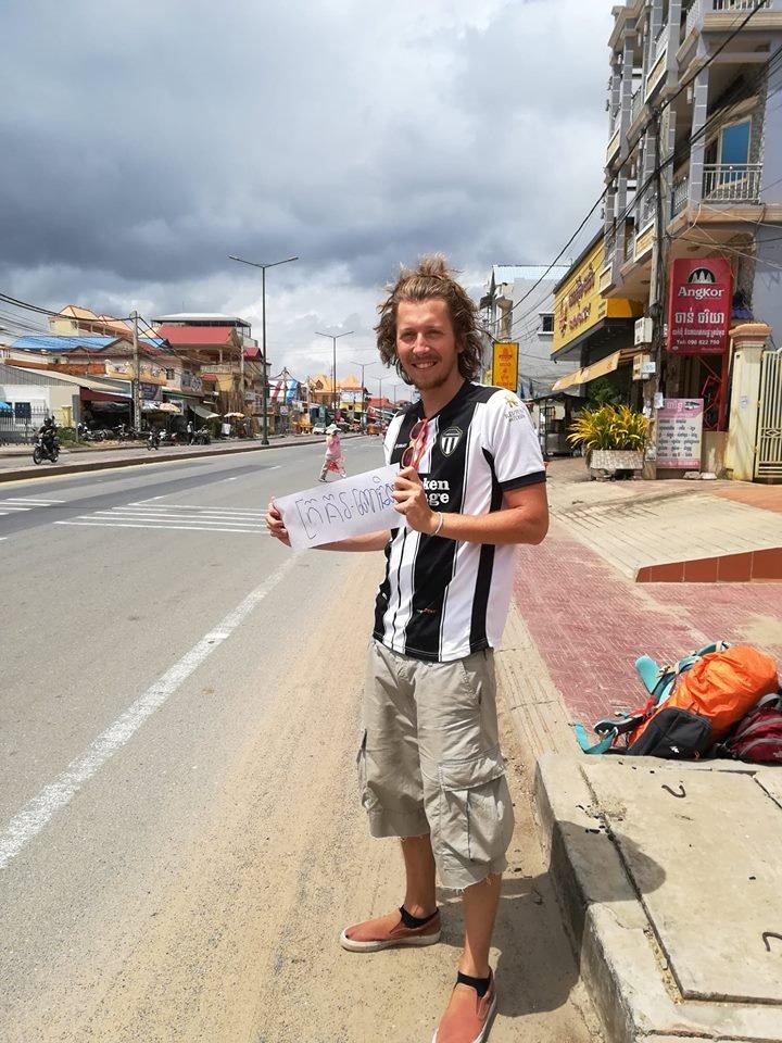 Sur les routes du Cambodge