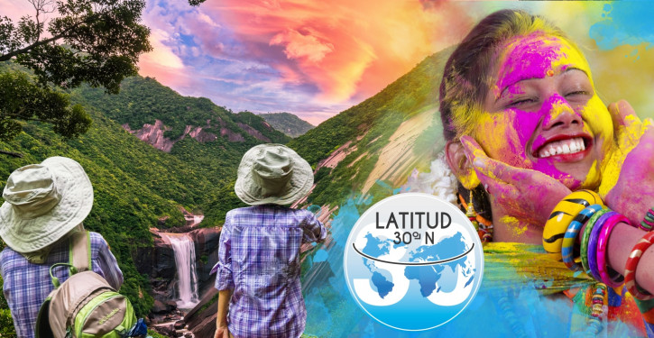 LATITUDE 30ºN - THE BLISS ROAD